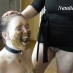 Eat my tasty shit, my happy toilet with Mistress Natalia Kapretti [FullHD / 2020]