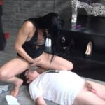 Toilet-slave from northern Europe with Mistress Gaia Scat Slave Video  [FullHD / 2019]