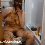 Dirty toilet (part 2) with ScatLina Shit Girls [FullHD / 2020]