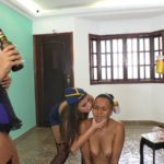Carnival party: unwelcome guest NewScatInBrazil – Brazil MFX Lesbian Scat [FullHD]