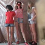 3 unimaginably sweet girls! And me eat shit [FullHD / 2020]