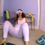 White Tights BUBBLE Guts with LoveRachelle2 Fart Videos [UltraHD/4K]