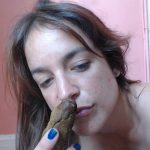 Play with my Turd with Liglee HOT Sucking Poop Video [FullHD]