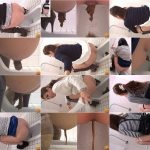Japan Girls pooping in toilet four angles Voyeur camera