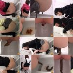 Four angles camera in toilets and closeup pooping japan girls AV