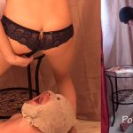 Suffering must remain inside the toilet slave with MilanaSmelly [FullHD]