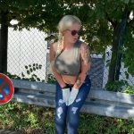 Public Panty Poop Big Tits Blonde