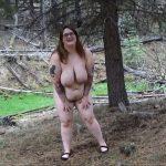 SamanthaStarfish – Public Full Body Shit Smear ManyVids BBW
